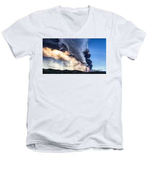 Wrath Of Nature Men's V-Neck T-Shirt