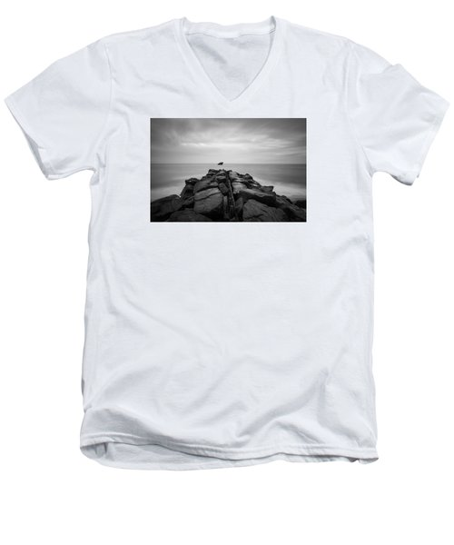 Wreck Of The Ss Atlansus Of Cape May Nj Men's V-Neck T-Shirt