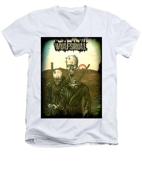 Wulfskull #1 Men's V-Neck T-Shirt