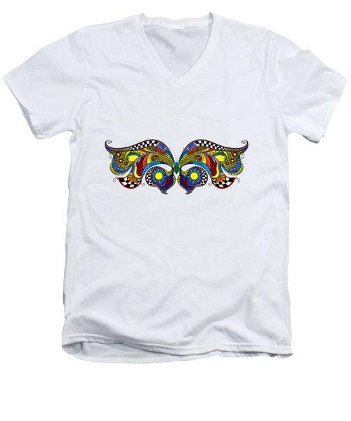 Chrysalis Men's V-Neck T-Shirt