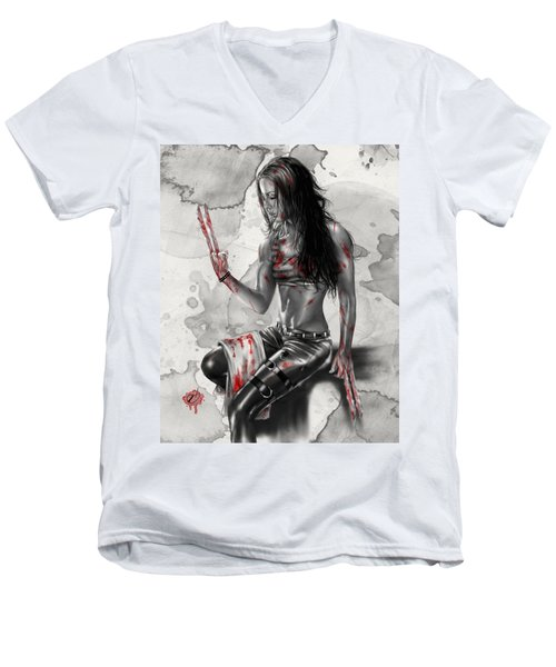 X23 Men's V-Neck T-Shirt