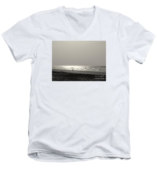 Men's V-Neck T-Shirt featuring the photograph Y O L O by Mim White