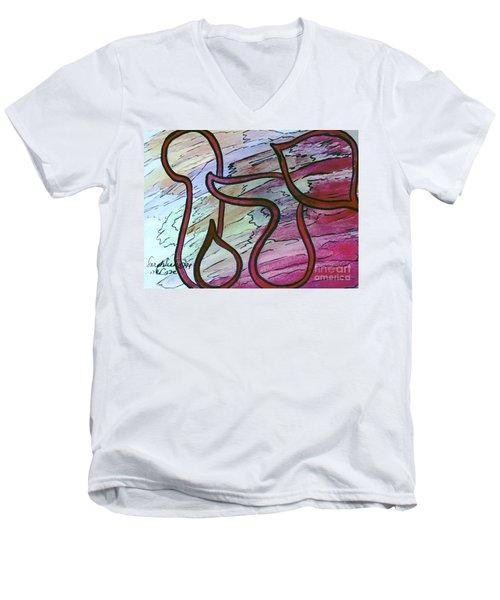 Yahu Lord  Men's V-Neck T-Shirt