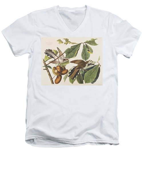 Yellow Billed Cuckoo Men's V-Neck T-Shirt