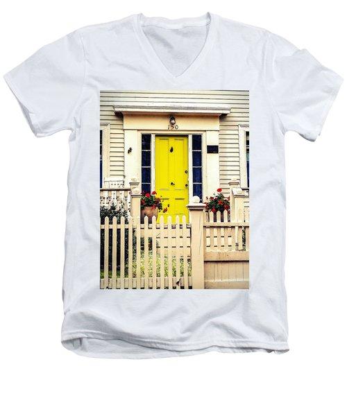 Yellow Door Men's V-Neck T-Shirt
