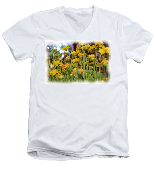 Yellow Fields Men's V-Neck T-Shirt
