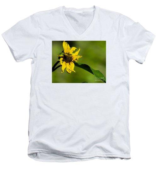 Yellow Flower 1 Men's V-Neck T-Shirt