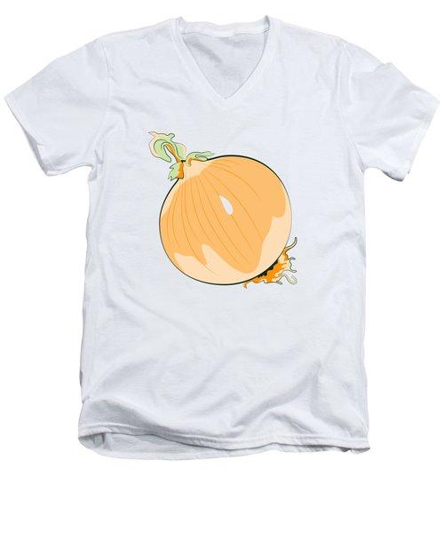 Yellow Onion Men's V-Neck T-Shirt