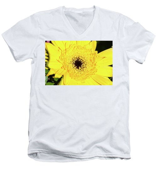 Yellow Pedal Men's V-Neck T-Shirt