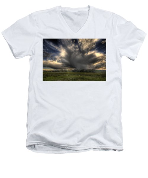 Yellowstone Storm Men's V-Neck T-Shirt