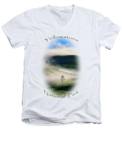 Yellowstone T-shirt Men's V-Neck T-Shirt