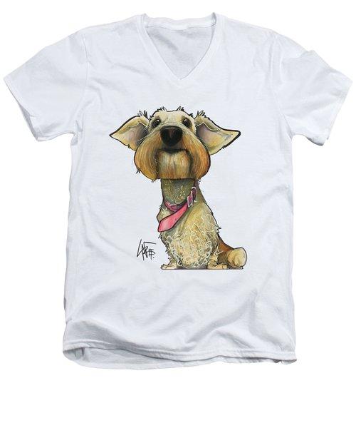 Yenny 3537 Men's V-Neck T-Shirt