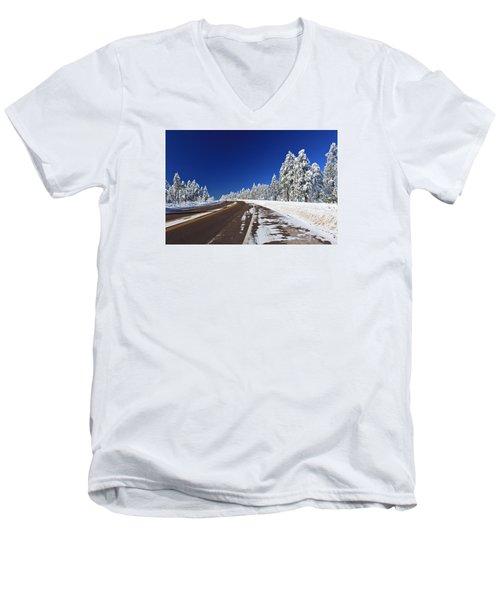 Yes Its Arizona Men's V-Neck T-Shirt by Gary Kaylor
