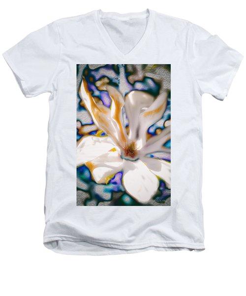 Yet Another Magnolia Men's V-Neck T-Shirt