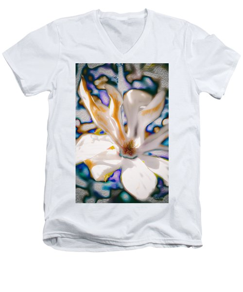 Yet Another Magnolia Men's V-Neck T-Shirt