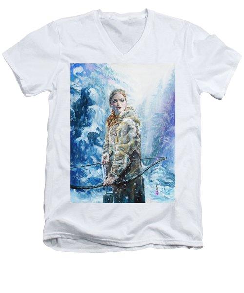 Ygritte The Wilding Men's V-Neck T-Shirt