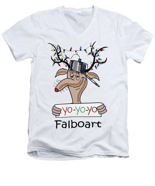Yo Yo Yo Men's V-Neck T-Shirt