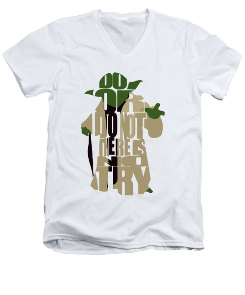 Yoda - Star Wars Men's V-Neck T-Shirt