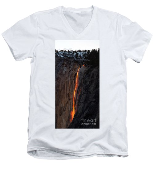 Yosemite Fire Falls - 2016 Men's V-Neck T-Shirt