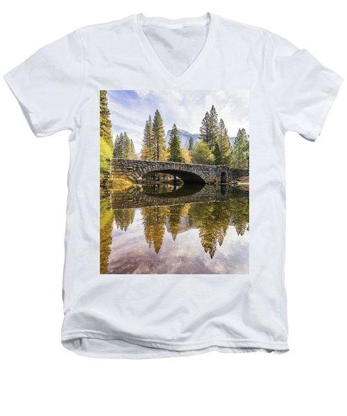 Yosemite Reflections Men's V-Neck T-Shirt