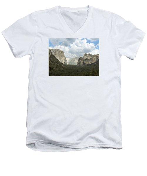 Yosemite Valley Yosemite National Park Men's V-Neck T-Shirt