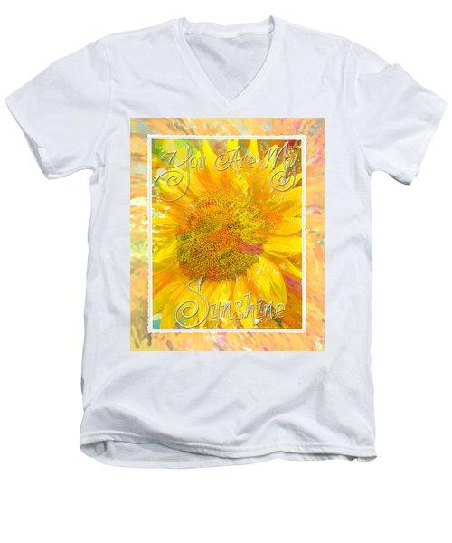 You Are My Sunshine 2 Men's V-Neck T-Shirt