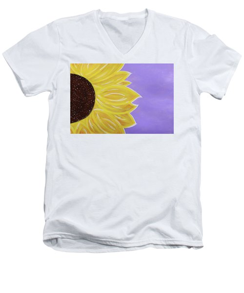 You Are My Sunshine Men's V-Neck T-Shirt by Cyrionna The Cyerial Artist