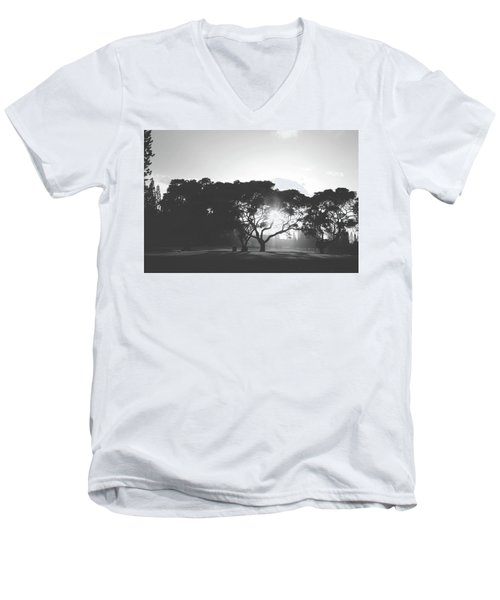 Men's V-Neck T-Shirt featuring the photograph You Inspire by Laurie Search