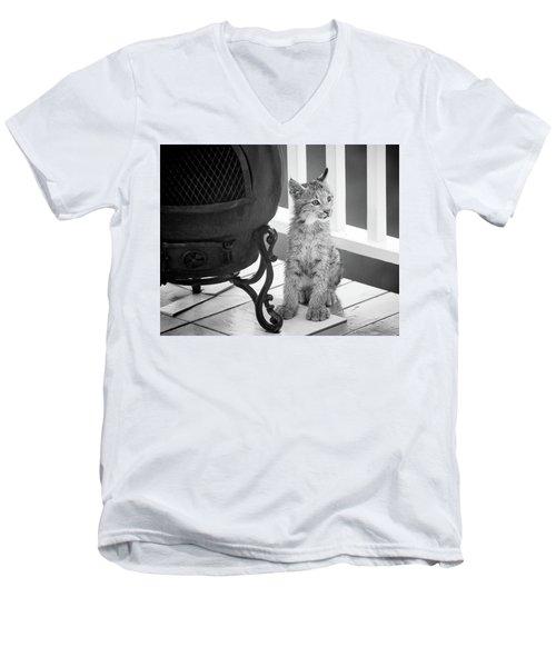You Say Somethin Men's V-Neck T-Shirt