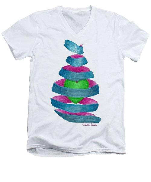You Unravel My Heart Men's V-Neck T-Shirt