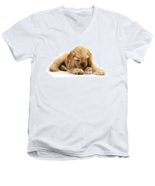 You'll Be Fine, Little Guy Men's V-Neck T-Shirt