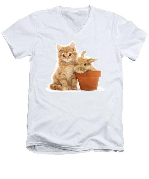 You're Potty Men's V-Neck T-Shirt
