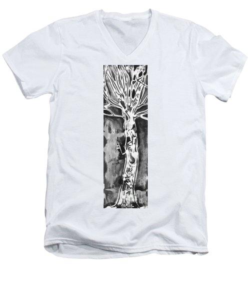 Youth Men's V-Neck T-Shirt by Carol Rashawnna Williams