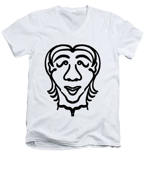 Yuto Men's V-Neck T-Shirt