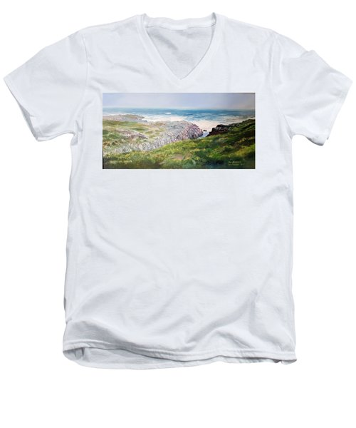 Yzerfontein Oggend Men's V-Neck T-Shirt