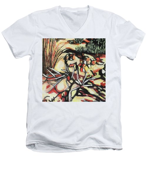 Zancara 1 Men's V-Neck T-Shirt