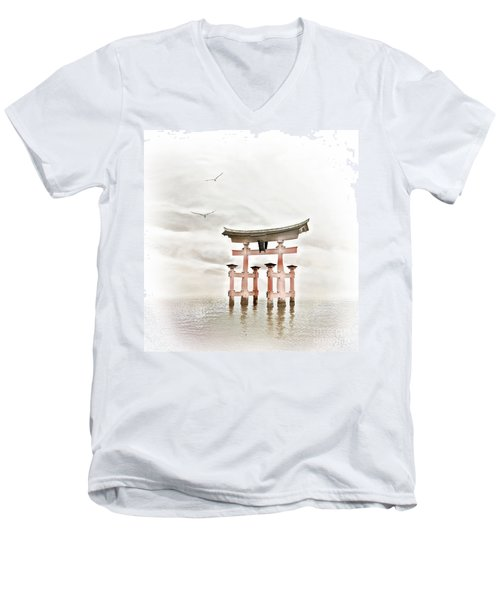 Zen Men's V-Neck T-Shirt