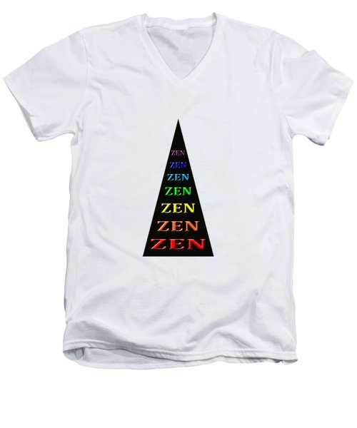 Zen Zone Men's V-Neck T-Shirt