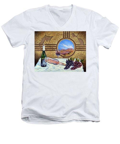 Zia Wine Men's V-Neck T-Shirt