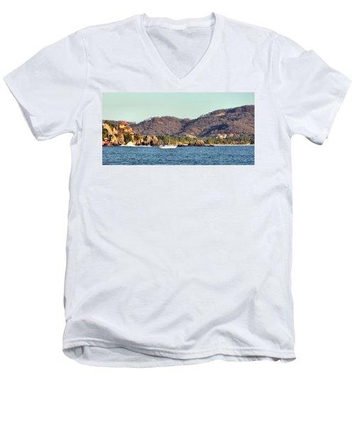 Zihuatanejo Bay Men's V-Neck T-Shirt