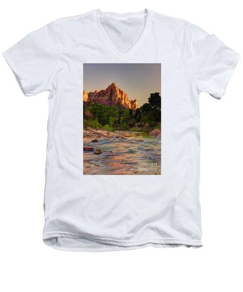 Zion Sunet Men's V-Neck T-Shirt