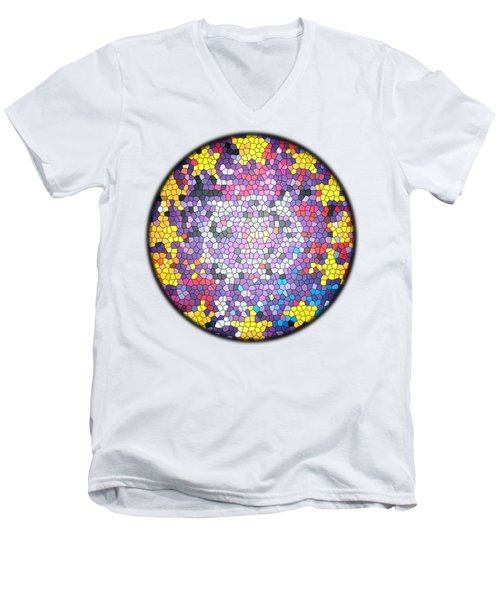 Zooropa Glass Men's V-Neck T-Shirt by Clad63