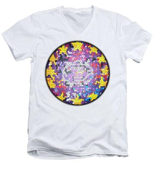 Zooropa Glass Men's V-Neck T-Shirt