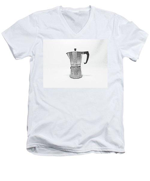08/05/19 Cafetiere Men's V-Neck T-Shirt