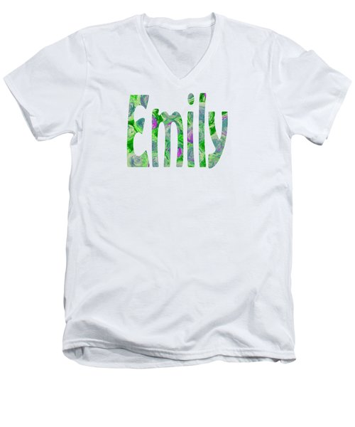 Emily Men's V-Neck T-Shirt