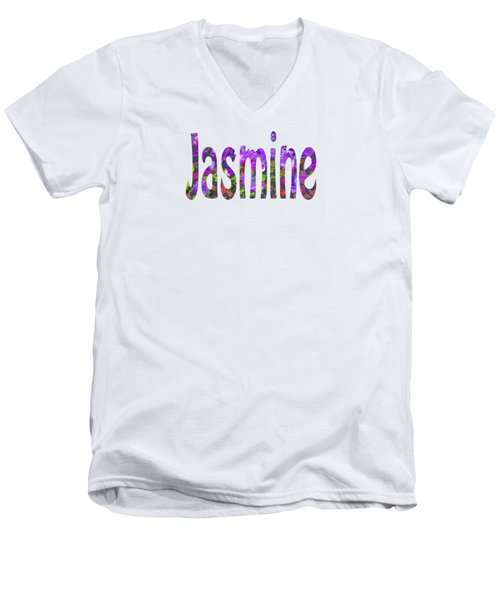 Jasmine Men's V-Neck T-Shirt