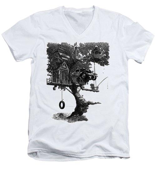 Lake Front Dream House Men's V-Neck T-Shirt