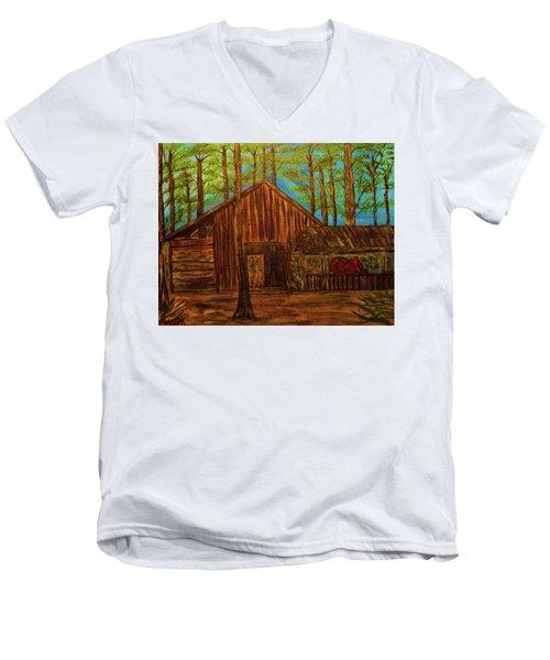Lowe Barn Men's V-Neck T-Shirt