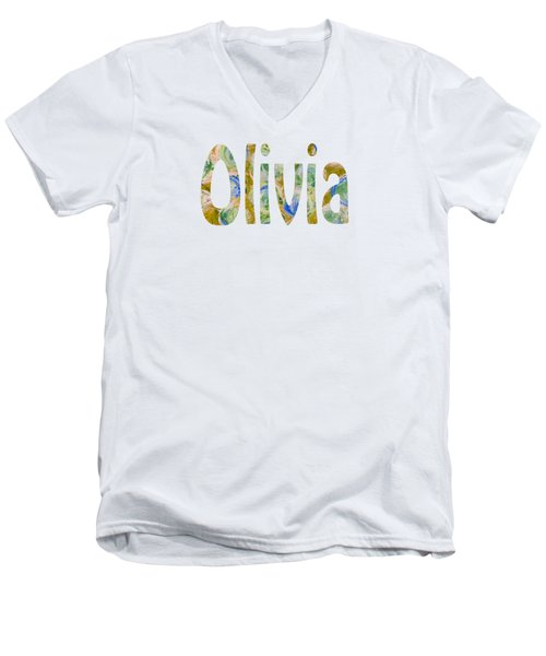Olivia Men's V-Neck T-Shirt
