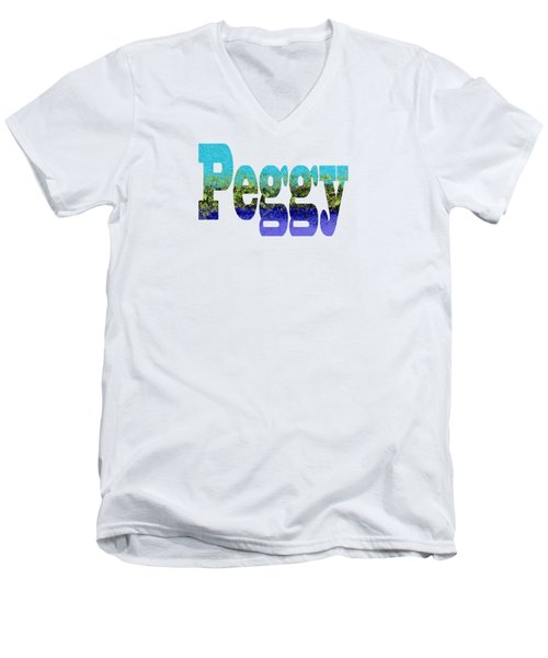 Peggy Men's V-Neck T-Shirt
